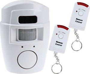 Alarme C/ Sensor Controle Remoto Portas Janelas A Santos-2522
