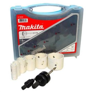 Serra Copo Bi-metal 51mm Kit Com 6 Peças - D-47123 - Makita