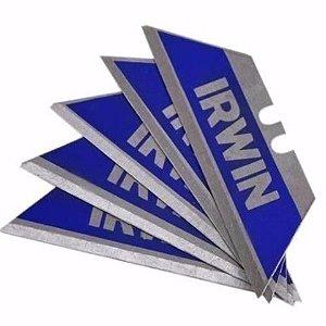 Lamina Trapezoidal P/ Estilete Irwin Embalagem C/ 5 Peças