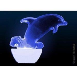 Abajour Luz Noturna Led Golfinho Infantil 110 Ou 220v
