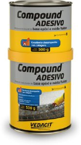 Compound Adesivo A+b Otto B Vedacit 1kg