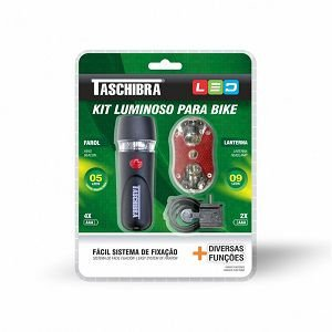 Kit Iluminação Led P/ Bicicleta Taschibra 60074