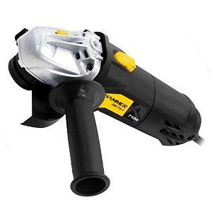 Esmerilhadeira Angular De 4.1/2 Pol. 710w-Hammer-710