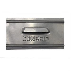Caixa Carta(correio) Carmax Alum. 1t Atras