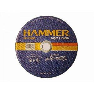 Disco de corte Inox Hammer 7 pol  X 1,6mm