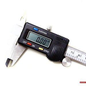 Paquímetro Digital Aço Inoxidável 150mm - Jomarca