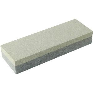 Pedra Dupla Face Brasfort 8035 Para Afiar Amolar Facas