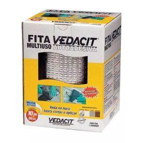 Fita Veda Tudo 30cm X 10m Alumínio VEDACIT