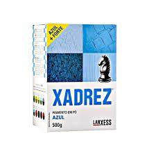 Pigmento em Pó Xadrez Corante Azul 500gr