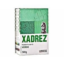 Pigmento em Pó Xadrez Corante Verde 500gr