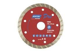 Disco Diamantado Turbo Seco 110 x 20 mm Norton