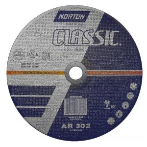Disco P/Ferro Norton 9 X 1/8 X 7/8pol  302