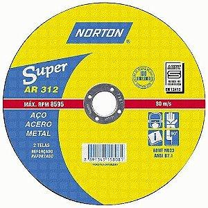 Disco P/Ferro Norton 9 X 1/8 X 7/8 312