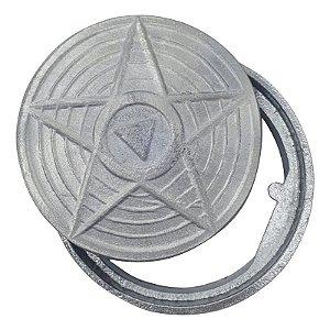 Tampa Caixa Inspecao 100Mm Aluminio
