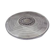 Tampa de Alumínio para Caixa de Gordura 300mm