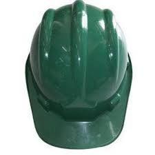 Capacete C/Carneira Verde Escuro Plastcor CA 31469