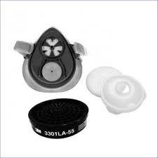 Respirador 3M Semi-Facial 3200 Kit Completo
