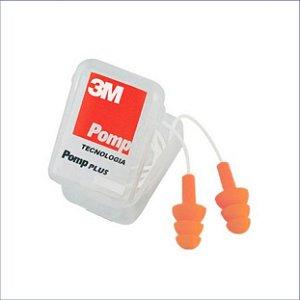 Protetor Auditivo Pomp Silicone C/Cordão BR 101 3M