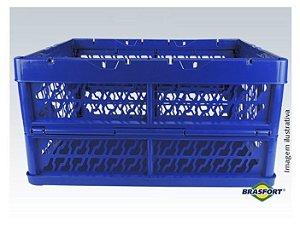 Caixa Plástica Dobrável Grande Brasfort até 25Kg