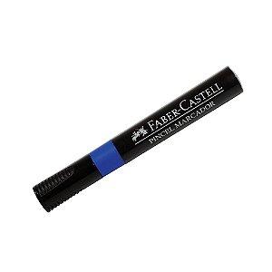 Caneta Marcação Pincel Azul FABER