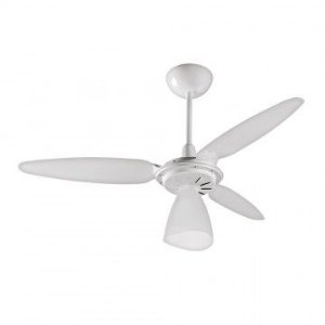 Ventilador de Teto Wind Light Branco 130W VENTISOL