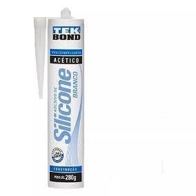 Cola Silicone Acético Branco Tekbond 280gr