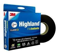 Fita Isolante 3M™ Highland® 19 mm x 20 m