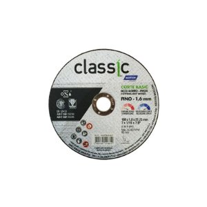 "Disco p/ Inox NORTON Basic 7"" x 1,6 x 7/8"""
