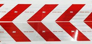 Faixa Refletiva PARACHOQUE 10cm x 1,2 2Pç 3M