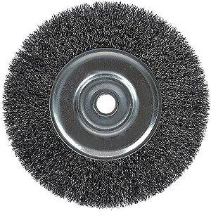 "Escova de Aço Circular 3"" x 1/2"" BRASFORT 7250"