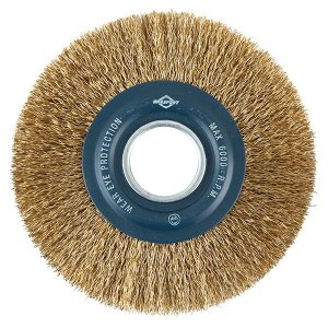 Escova Circular de Aço Latonado 6″ x 1″ BRASFORT 7248