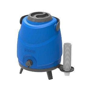Botijão Térmico 9 litros c/ Torneira SOPRANO Azul