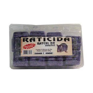 Mata Ratos RATCEL 25 blocos de 20gr Externa