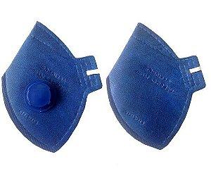Mascara Descartável LEDAN PFF2 P2 C/ Valvula - 20 peças