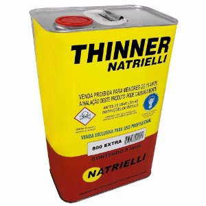 Thinner NATRIELLI 800 Extra 5 litros