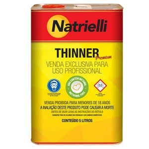 Thinner NATRIELLI 8100 Extra 5 litros