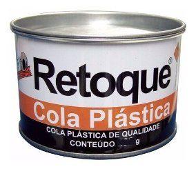 Massa Plastica RETOQUE 700Gr Branca c/ Catalisador