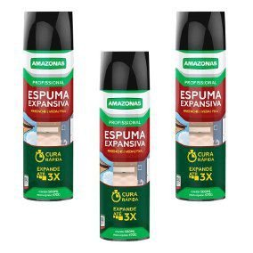 Espuma De Poliuretano Spray 500ml/470g AMAZONAS