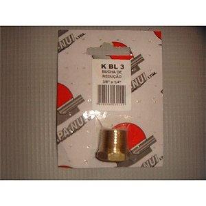 Bucha de Reducao p/ Ar Comprimido 3/8 x 1/4 BL3