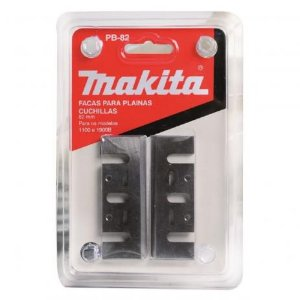Faca de Plaina MAKITA HSS 82mm Conjunto