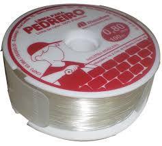 Linha Pedreiro Nylon MAZZAFERRO 0,8MM x 100M Branca