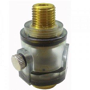 Mini Lubrificador 1/4 Para Ferramentas Pneumáticas WAFT