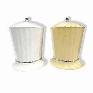 Lixeira Plastica Aquaplas 4l Bege