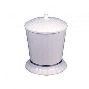 Lixeira Daivak Plástico 4,5 Litros Branca