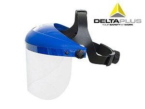 "Protetor Facial 8"" Incolor s/Catraca WPS0718 CA 14197 DELTAPLUS"