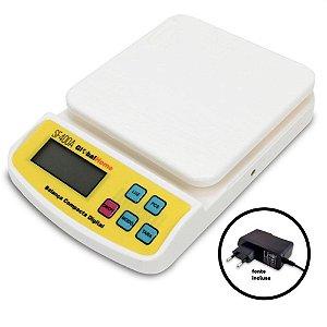 Balança Cozinha Digital 10kg GLOBALMIX Biv SF400A