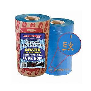 Lona Plástica MAXILONA Azul 4 X 50M+10M 13Kg 100Micras