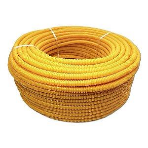 "Conduite Corrugado Amarelo DINOPLAST (B) 5/8""x 50m 2"