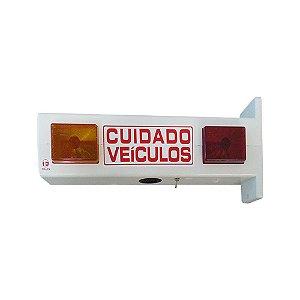 Sinalizador Garagem TOLLER Pvc Led c/ Bip Bivolt TESG-1L