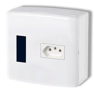 Centrinho MARGIRIUS PVC 4x4 Ext+Tomada CP1 PA015680